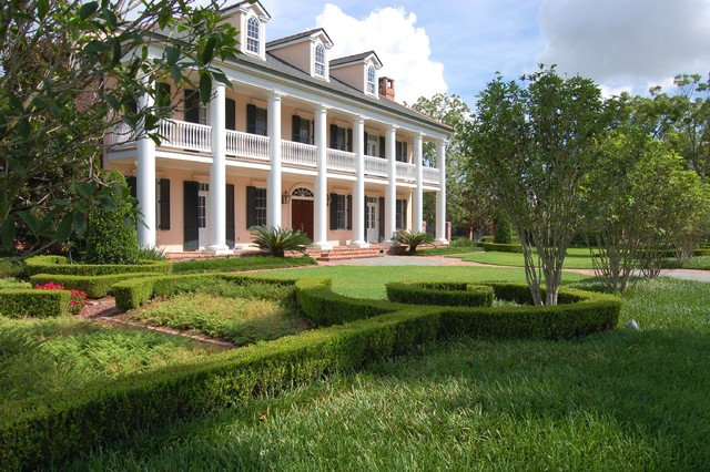 Mississippi river ridge estate traditional new orleans for Mississippi landscape architects