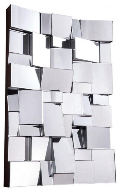 Modern mirror by elegant lighting contemporary wall - Wall mirror modern design ...