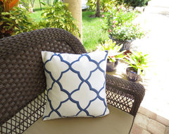 Decorative Throw Pillow Cover, Moroccan by Instant Makeover modern-pillows