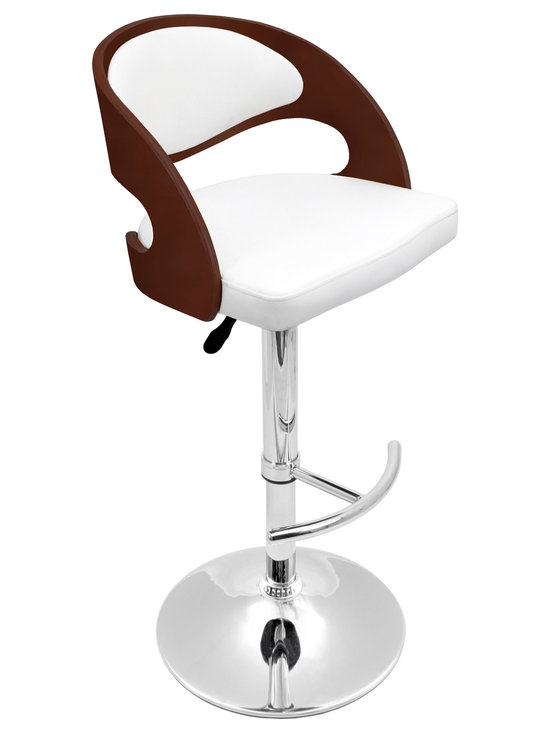 Pino Bar Stool - CHERRY/BROWN