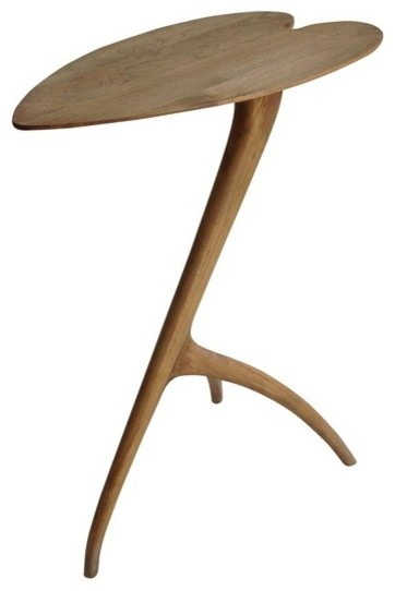 RION Furniture - Blossom Side Table in Teak - GTAB367T traditional-side-tables-and-end-tables