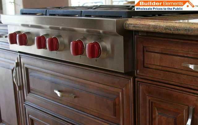 RTA Kitchen Cabinets_Chocolate Maple Glazed Kitchen Cabinets - Modern - las vegas - by ...