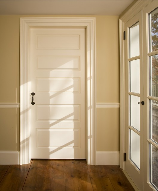 Custom Paneled Door Traditional Interior Doors