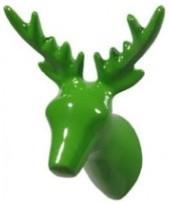 Green Deer Hook wall-hooks