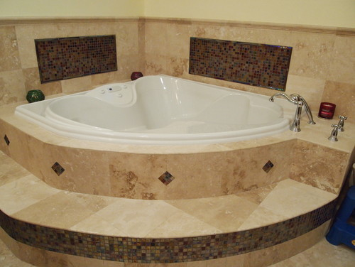 What is the dimensions of a triangular jacuzzi for How deep is a normal bathtub