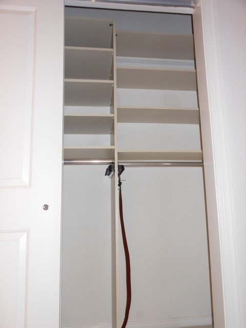 Custom Closets Installed - Walk In & Reach In Closets modern-closet-organizers