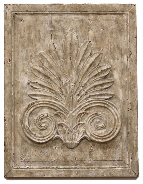 Ma onnerie antique french country acanthus leaf carved for Acanthus leaf decoration