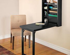 Wall-Mounted Fold-Out Desk modern-desks