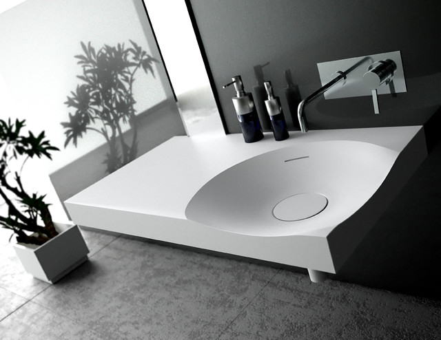 SWE3 sink contemporary-bathroom-sinks