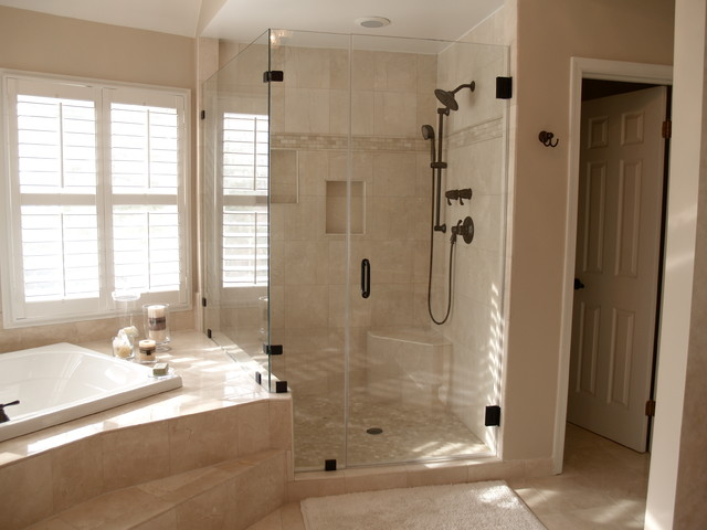 Frameless shower doors traditional boston by showroom partners Bathroom remodel shower doors