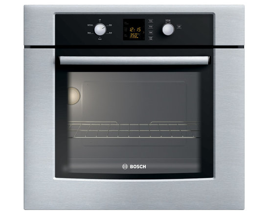 """Bosch 30"""" 300 Series Single Wall Oven, Stainless Steel 