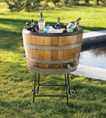 VivaTerra Wine Barrel Chiller accessories-and-decor