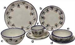 Palomar Dinnerware Collection - Patzcuaro Pattern - PAL09