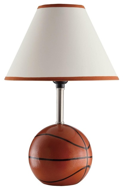 Kids Sports Basketball Table Lamp Modern Table Lamps