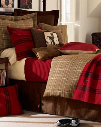 Full/Queen Plaid Duvet Cover traditional-duvet-covers-and-duvet-sets
