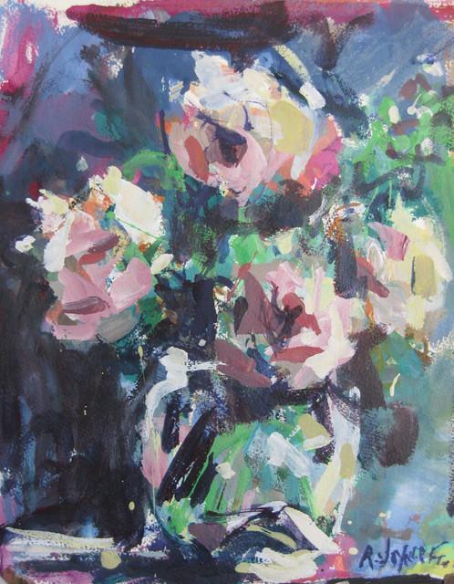Flower Paintings contemporary-artwork