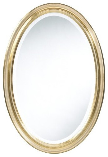 Cooper Classics Blake Oval Mirror - 21.5W x 31.5H in. traditional-mirrors