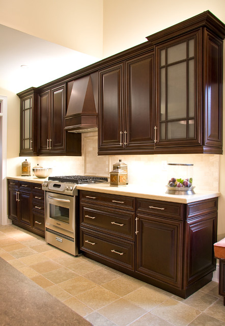 Lexington clove maple traditional kitchen cabinetry for Aya kitchen cabinets