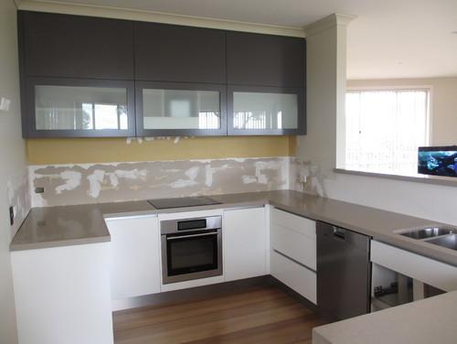 What Colour Splashback With White Kitchen