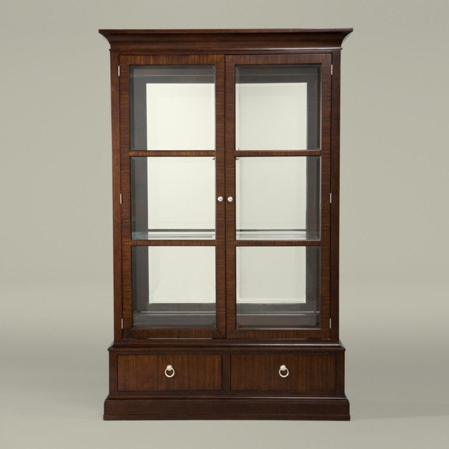 Modern Glamour Brighton China Cabinet Traditional