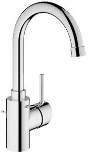 Grohe 32138EN1 Concetto Single-Lever Bathroom Faucet, Brushed Nickel contemporary-bathroom-faucets-and-showerheads