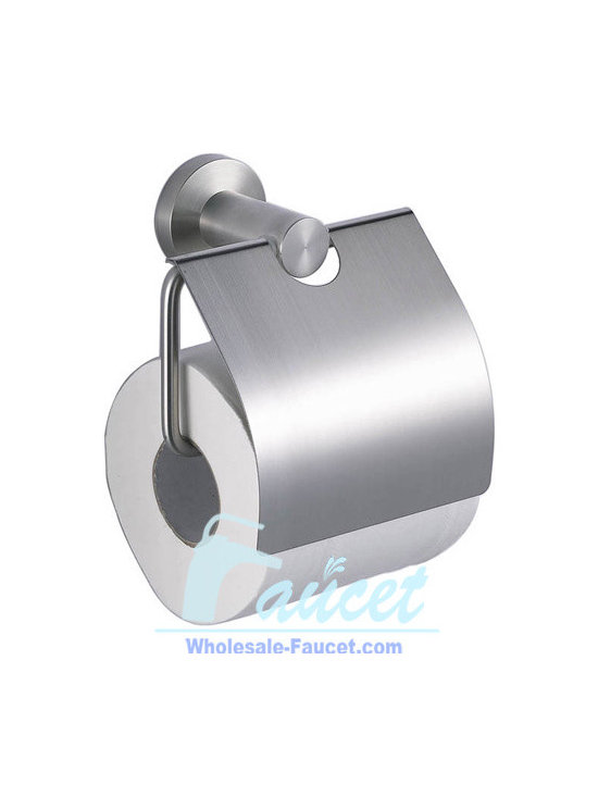 Stainless Steel Bath Toilet Paper Holder - Toilet Paper Holder in Stainless Steel adds luxury to your bathroom accessories. This toilet paper holder is made of Stainless Steel with Stainless Steel  finish. It is designed to hold 1 roll of toilet paper