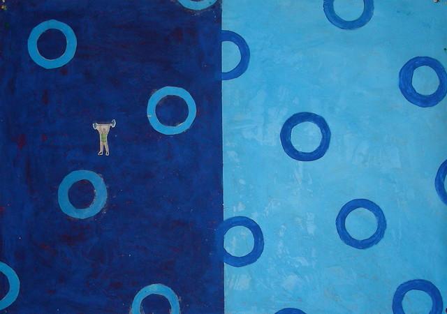 Art:: palette blue green turquoise aqua artwork