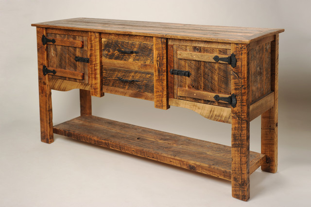 Rustic Furniture Portfolio - Rustic - Buffets And Sideboards - other metro - by Rory's Rustic ...