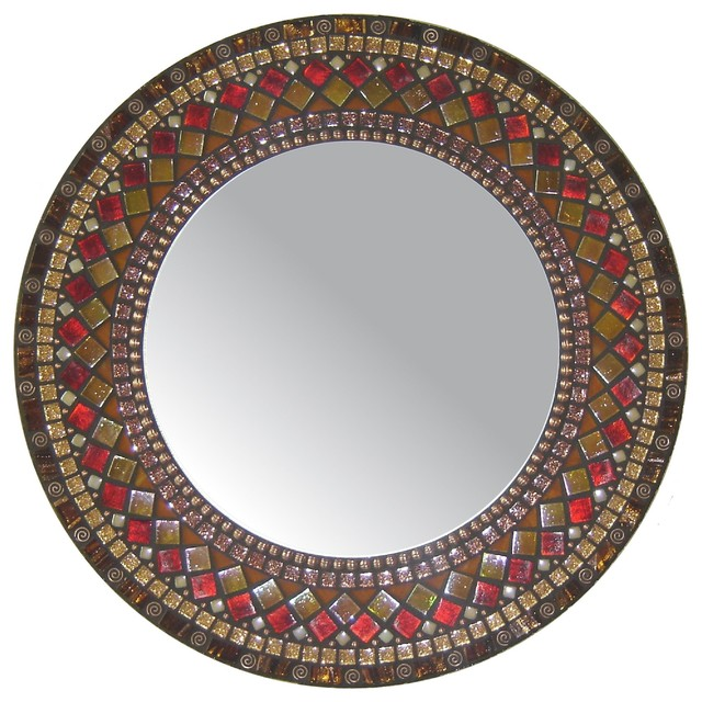 Heirloom Collection Mosaic Mirrors traditional-mirrors