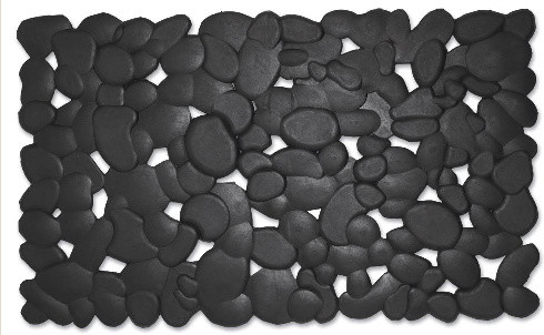 Stones Rubber Doormat contemporary doormats
