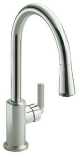 Vir Stil by Laura Kirar Pull-down Kitchen Faucet contemporary-kitchen-faucets