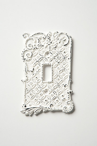 Tin Roof Switch Plate, Single - Traditional - Switch Plates And Outlet Covers - by Anthropologie