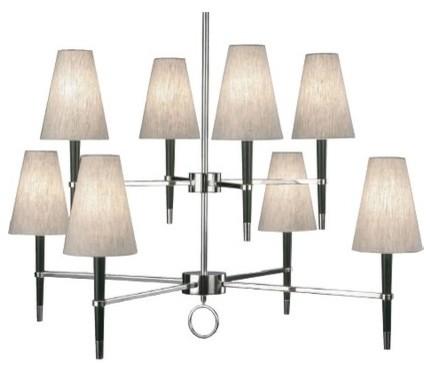 Jonathan Adler Ventana 8 Light Chandelier modern-chandeliers