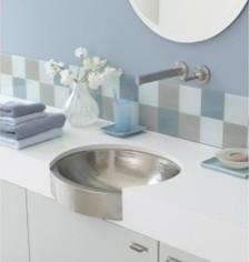 Calypso In Brushed Nickel bathroom-sinks
