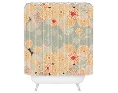 Iveta Abolina Creme De La Creme Shower Curtain eclectic-shower-curtains