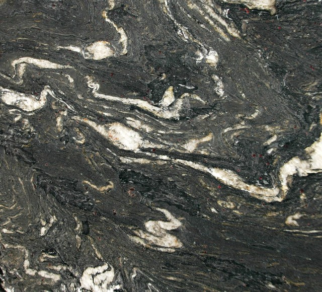 Black Titanium Granite : Titanium black granite