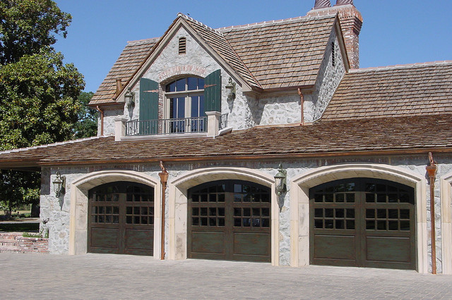 Carriage House Painted Garage Doors Modern Garage