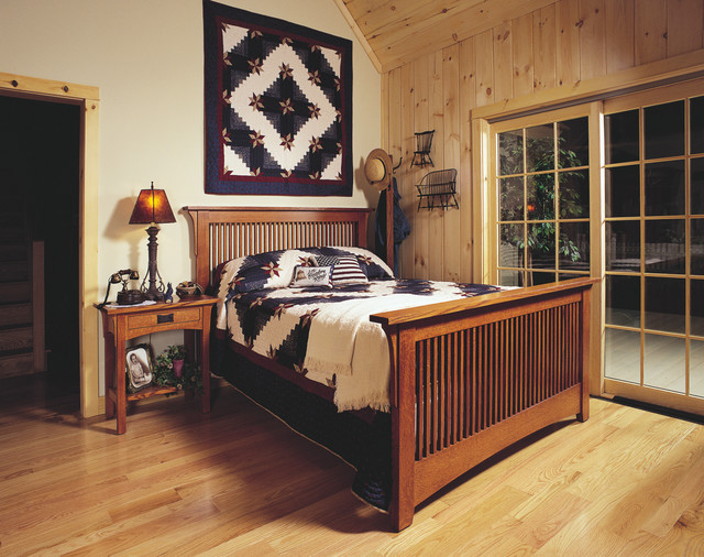 mission style oak bedroom furniture craftsman bedroom cleveland