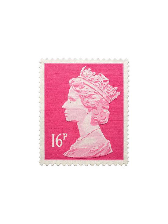 Stamp Rug - 16p PINK -