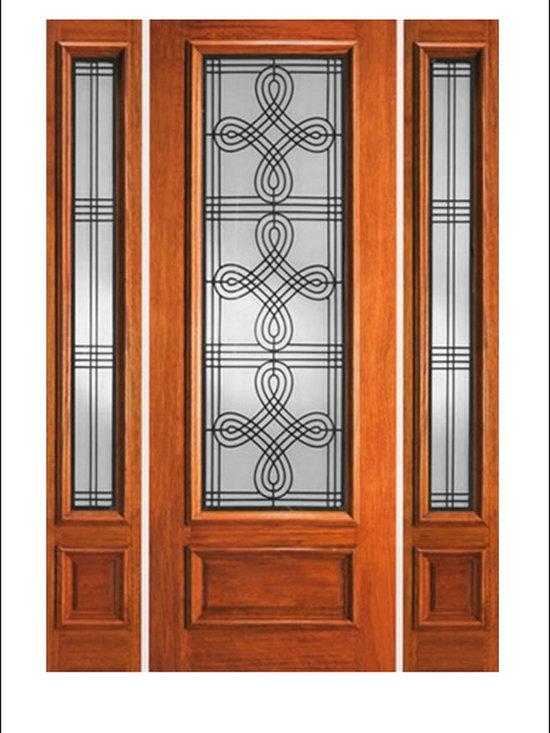 IR Iron Insulated Entry Doors Model  # 733 -