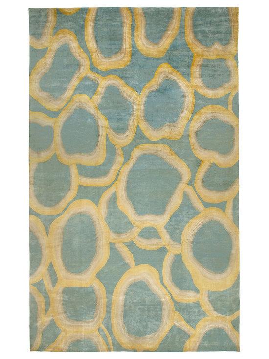 Unique modern rugs - Ondulation N10343