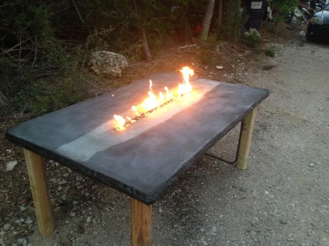 Concrete Jungle Patio Furniture & Fire Tables Tropical