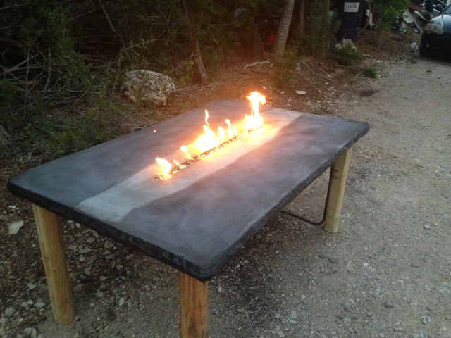 Concrete Jungle Patio Furniture u0026 Fire Tables - Tropical - austin - by Concrete Jungle