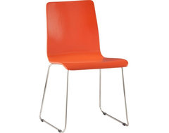 Echo Orange Chair modern outdoor chairs