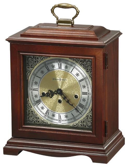 Howard Miller Key Wound Westminster Chime Mantel Clock | GRAHAM ...