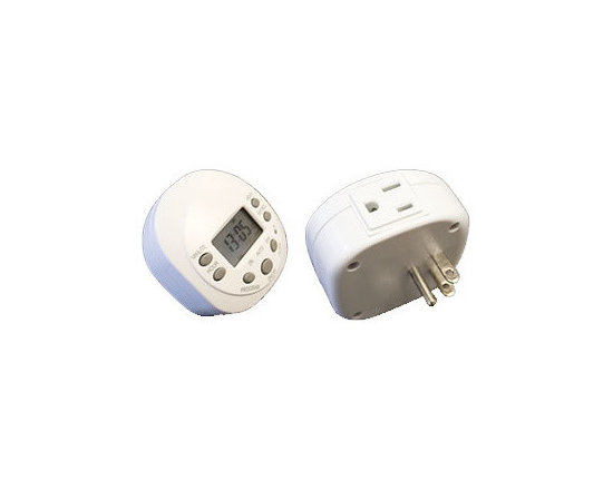 Hudson Reed - Hudson Reed Programmable Plug in Timer - This 7 day 24 hour programmable plug in timer is suitable for our range of non-hardwired electric towel warmers. These include product codes: USDS-RWP-S , USDS-RWP-C . USDS-SAFS-24 and USDS-SAFS-33  The timer is in a white color and weighs 1lb.