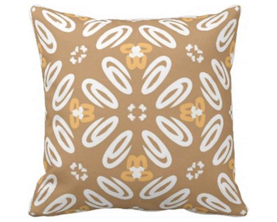 """""""Sanford"""" Print Accent Pillow -"""