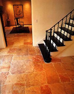 Reclaimed Jerusalem stone mediterranean-wall-and-floor-tile