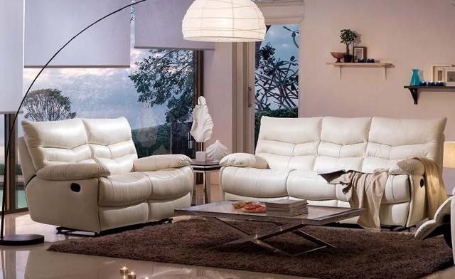 nicola italian leather reclining sofa set living room furniture sets los angeles by iris. Black Bedroom Furniture Sets. Home Design Ideas