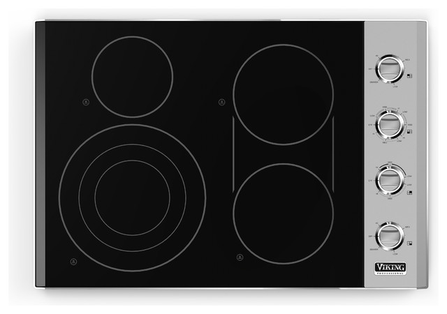 Viking Electric Cooktop ~ Viking professional quot smoothtop electric cooktop